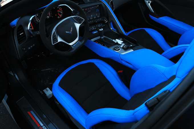 2021 Chevrolet Corvette Grand Sport Interior