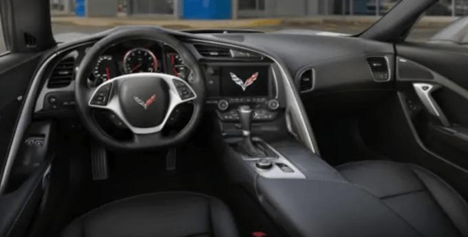 2019 Chevrolet Corvette Stingray Z51 Interior
