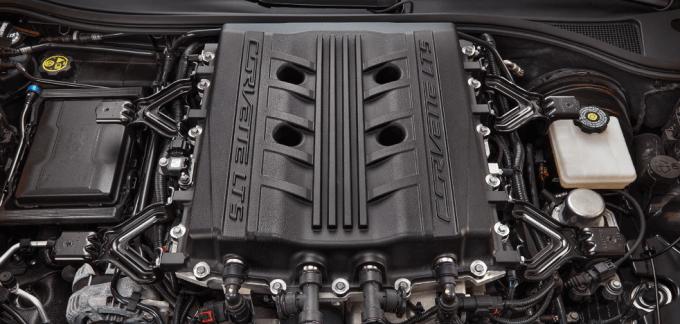 2019 Chevrolet Corvette ZR1 Engine