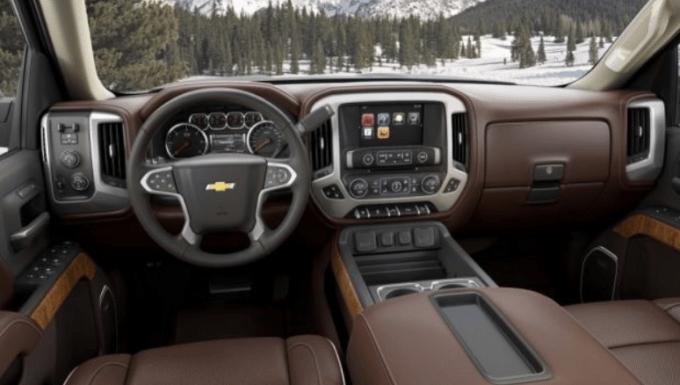 2019 Chevrolet Silverado 1500 Diesel Interior