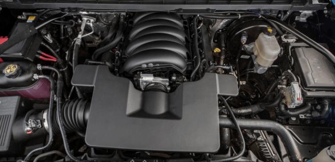2019 Chevrolet Silverado Engine