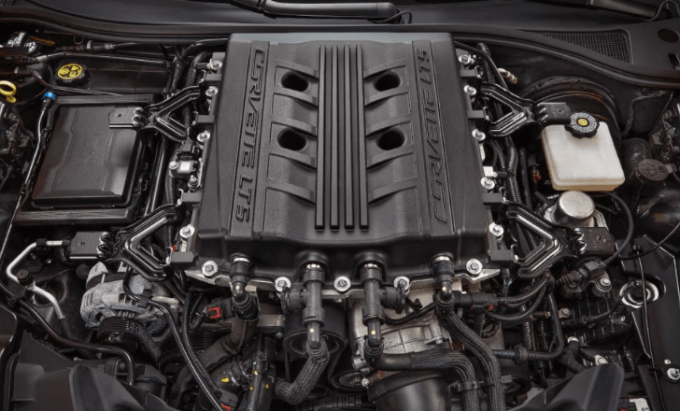 2019 Chevrolet Corvette Convertible Engine