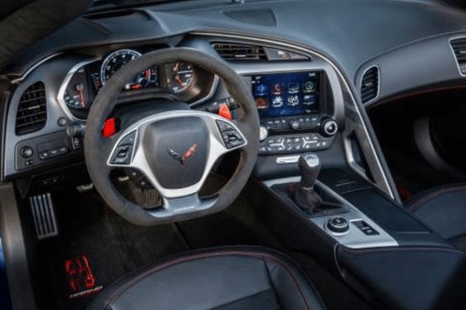 2019 Chevrolet Corvette Z06 Interior