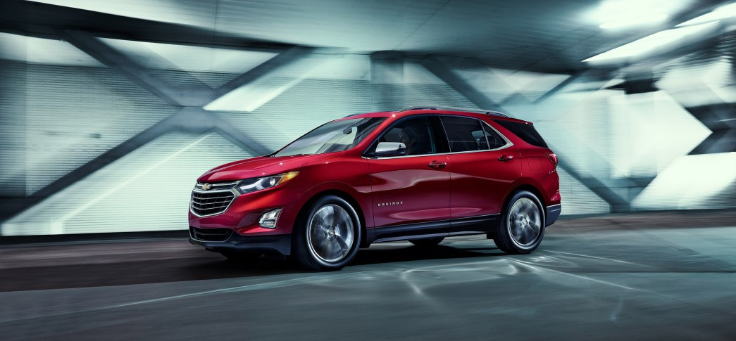 family-friendly Chevrolet SUVs - Chevrolet Equinox