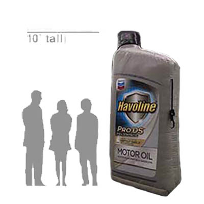 10' Inflatable Havoline SYN ProDS™ Quart