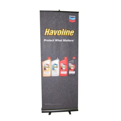 havoline-banner-stand