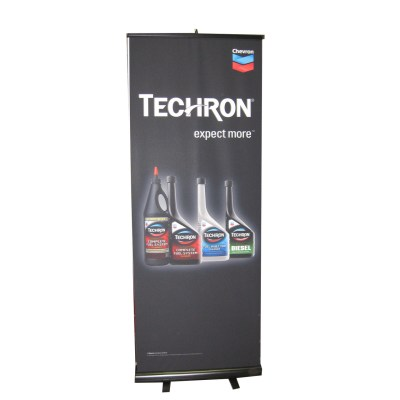 techron-banner-stand