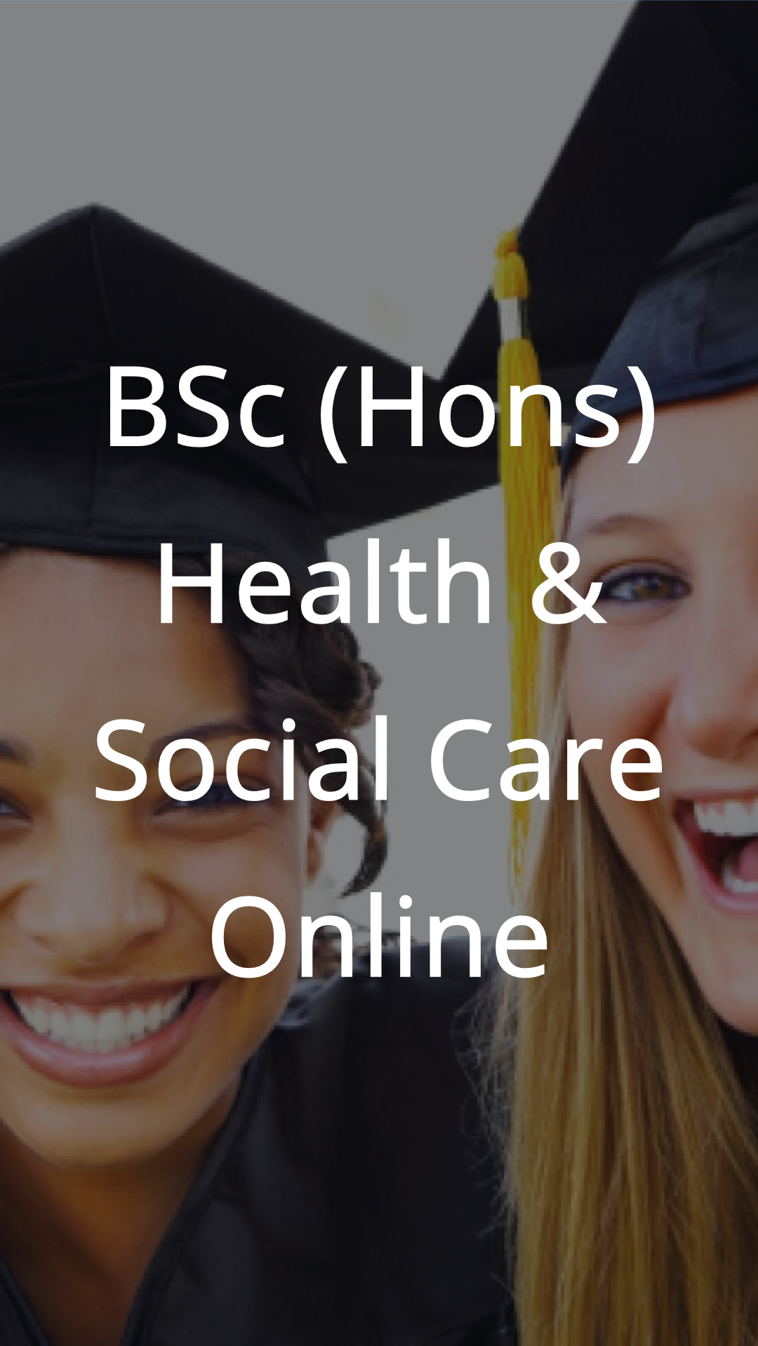 health social care degree