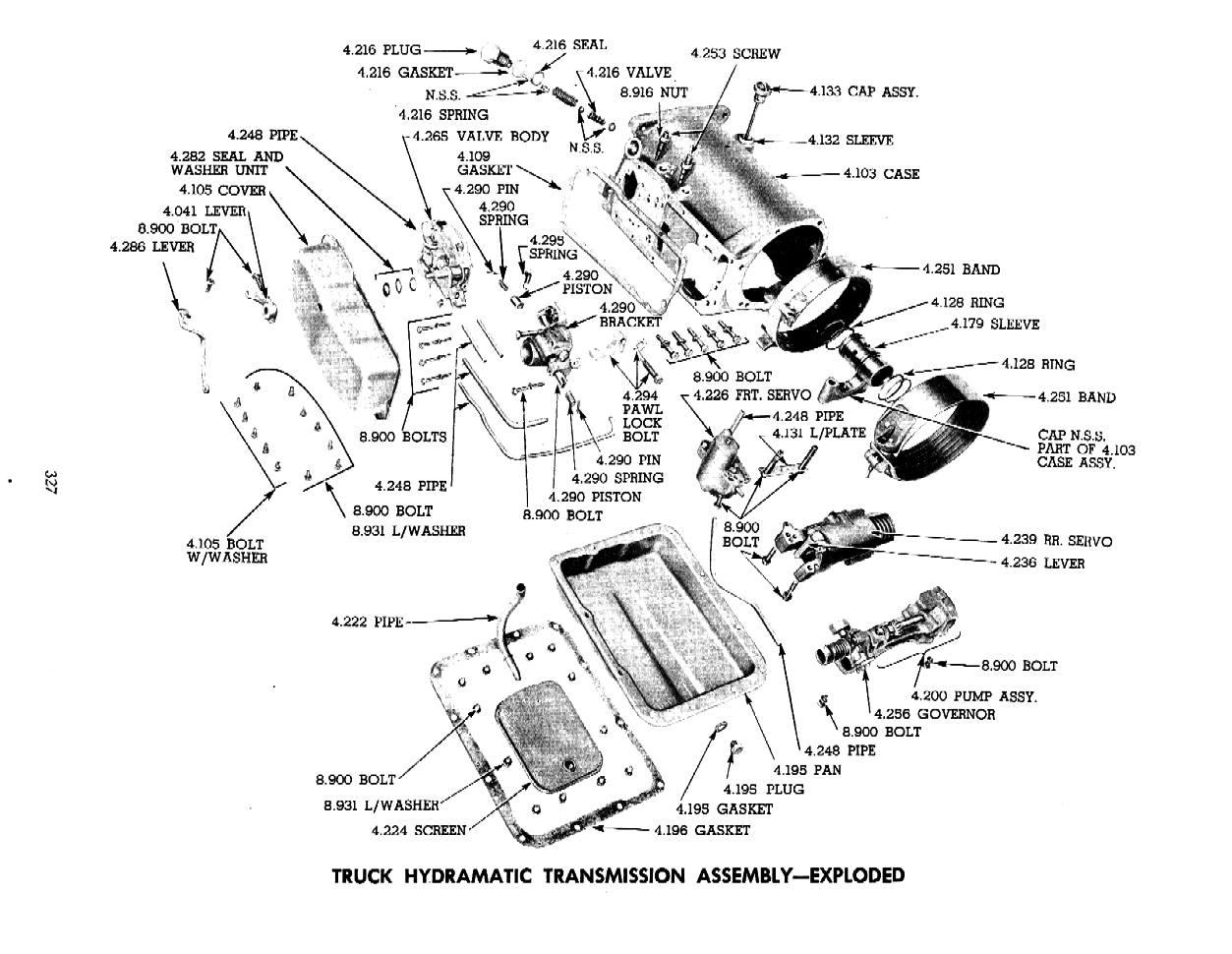 Re 57 Hydramatic Transmission Shifting Problem