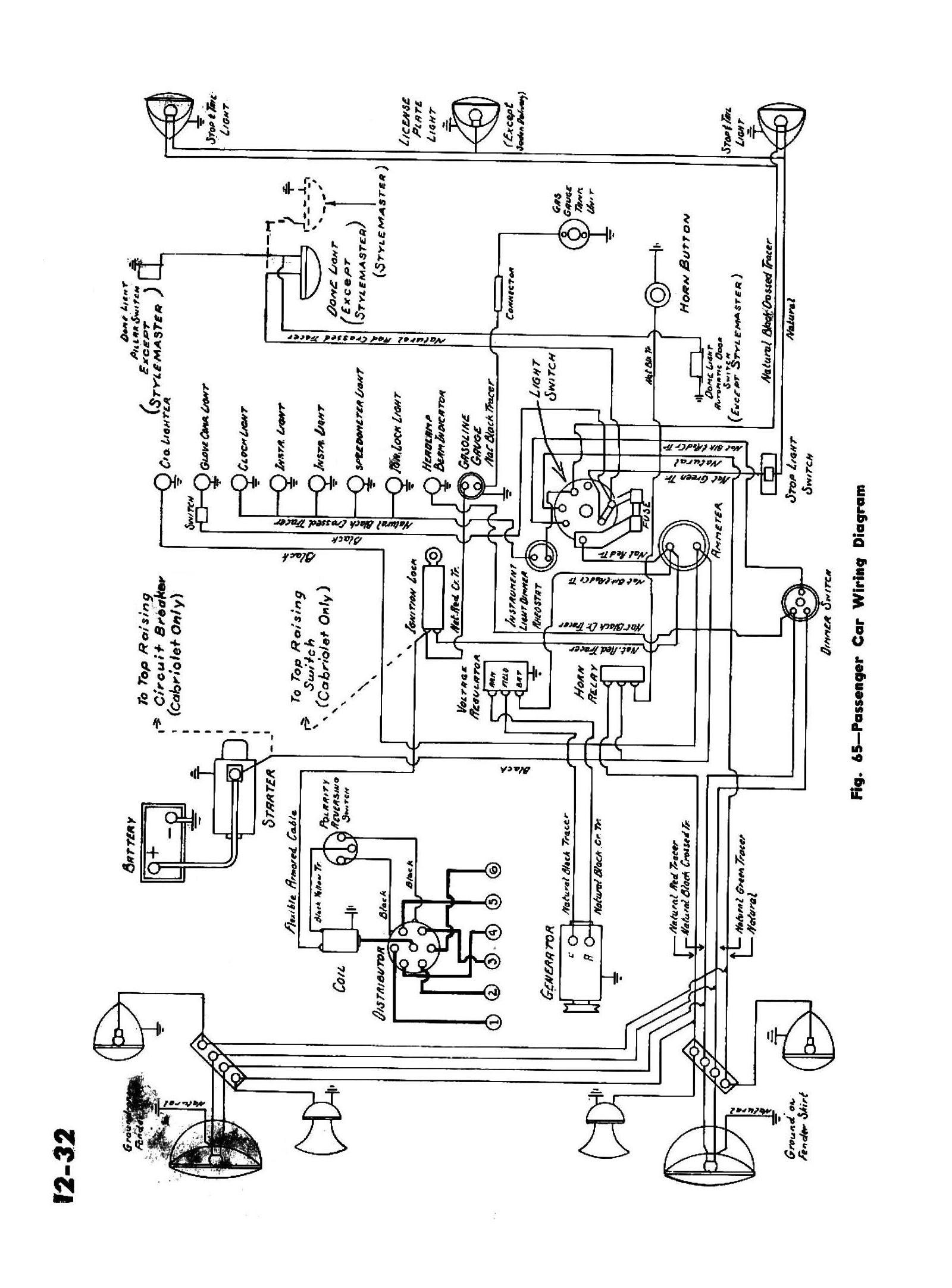 Basic Wiring Diagram For Car