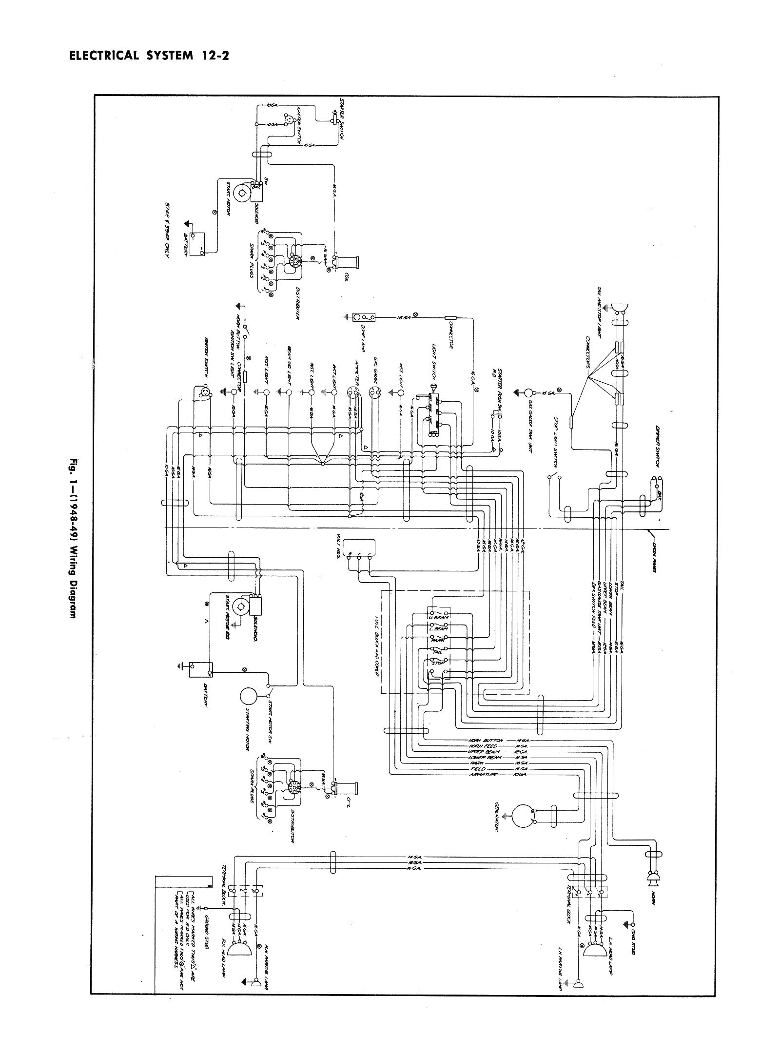 Chevy Pickup Wiring Diagram