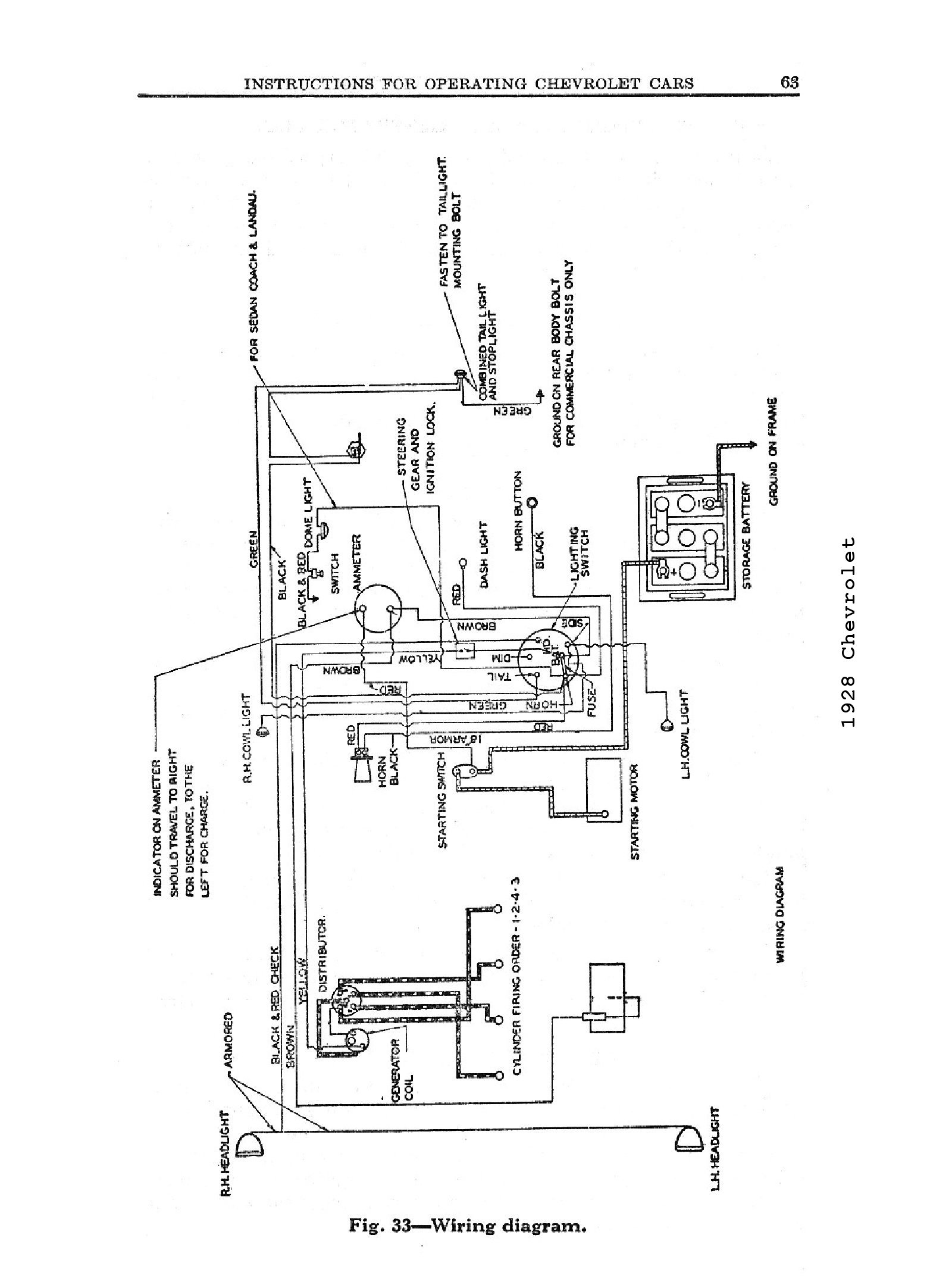 Chevy Ignition Switch Wire Diagram