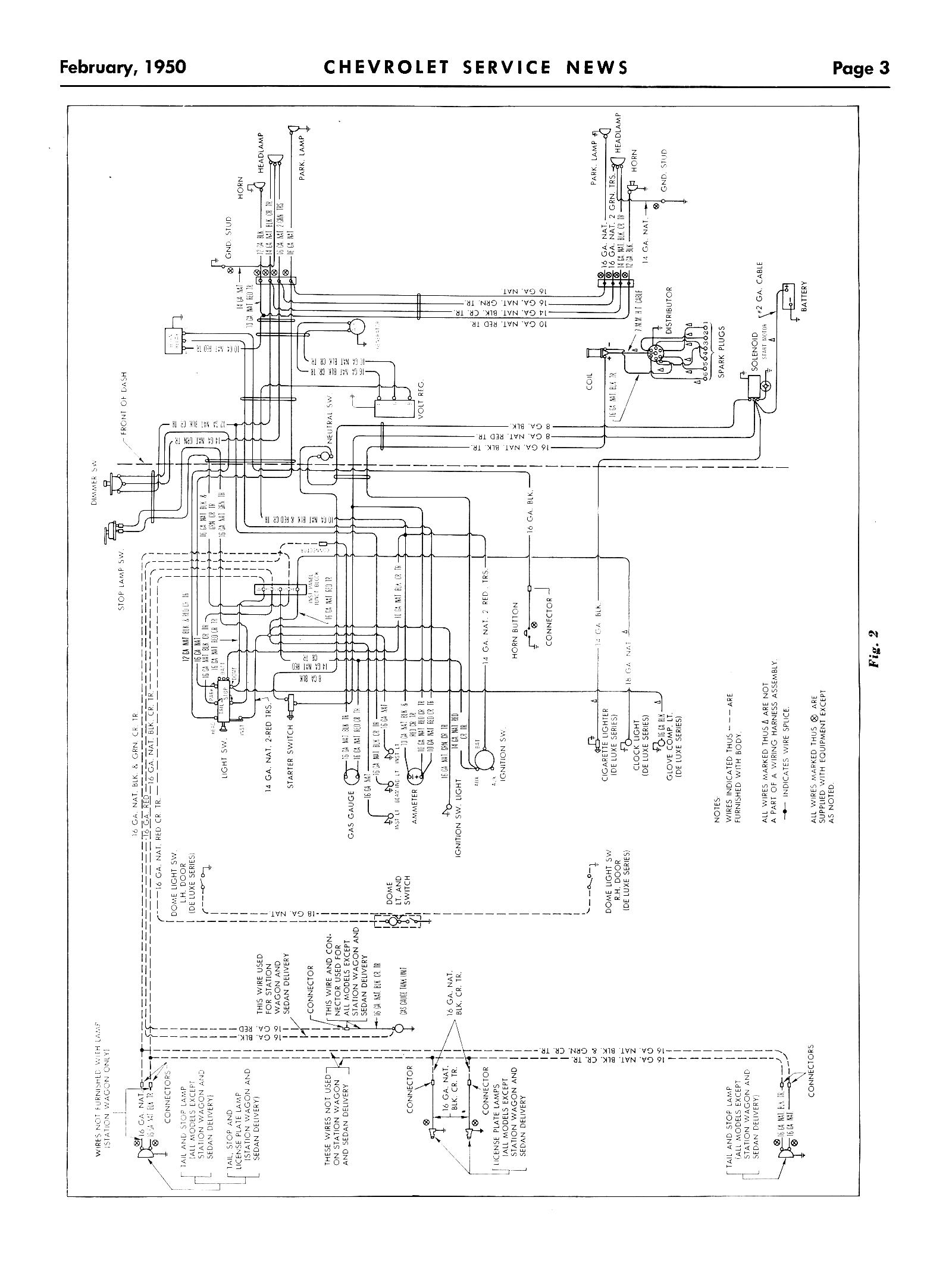 50 Chevy Wiring Diagram 50 Free Engine Image For User Manual Download