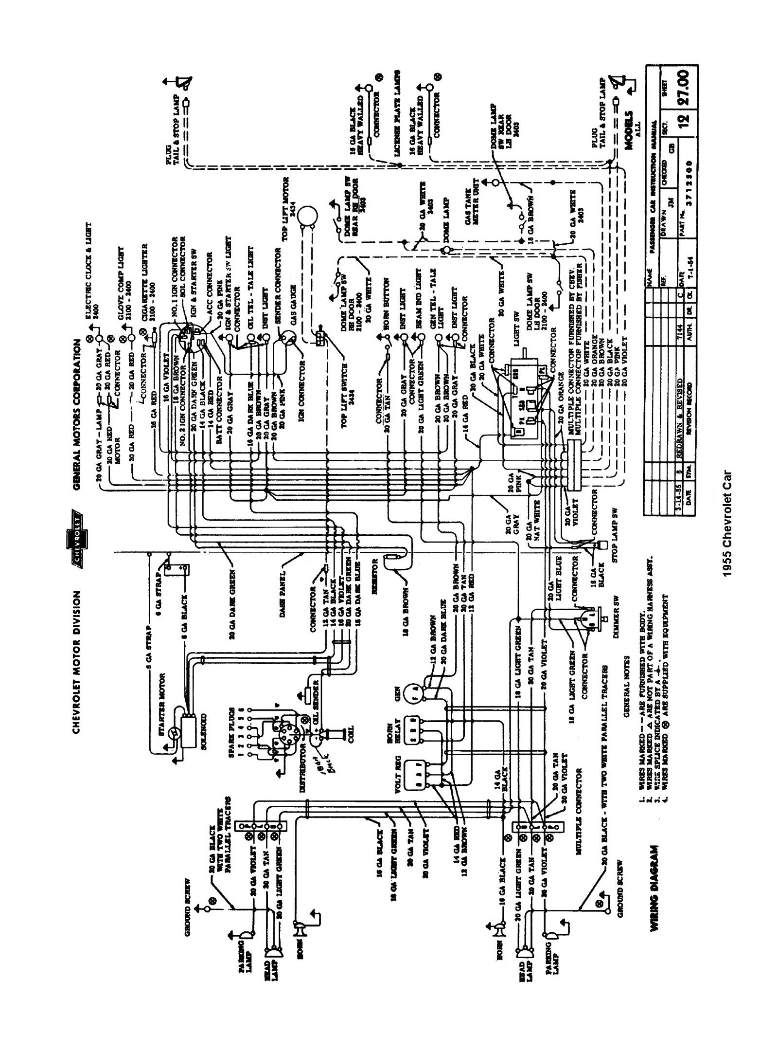 57 Chevy Painless Wiring Diagram