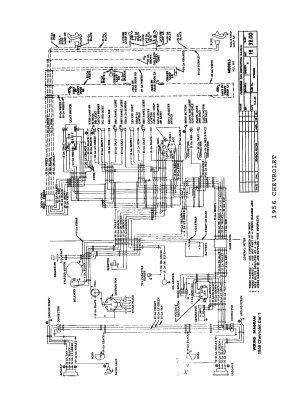 56 Olds guys, Need wiring schematics for the instrument