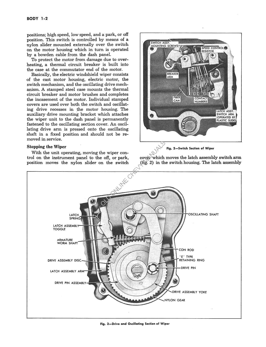 Supplement To The Chevrolet Truck Shop Manual