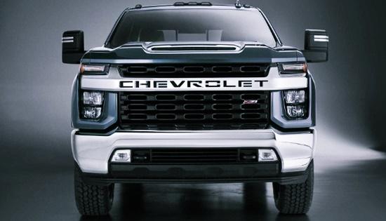 2021 Chevy Silverado HD Truck Concept
