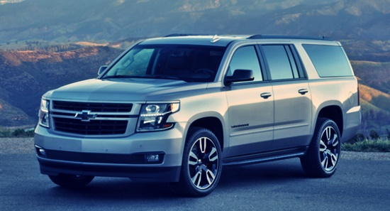 2021 Chevy Suburban Release Date, Price