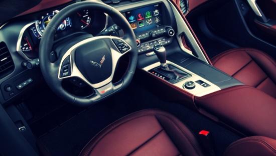 2021 Chevy Corvette Interior
