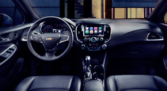 2021 Chevy Cruze Interior