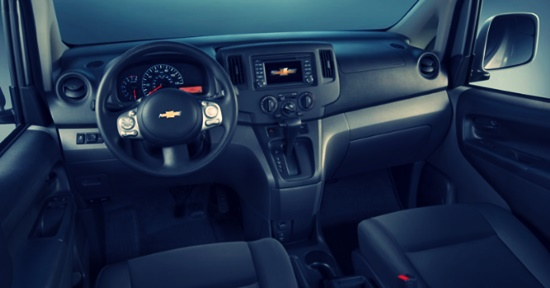 2021 Chevy Express Interior