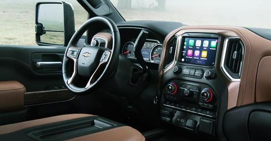 2021 Chevy Silverado 1500 HD Interior