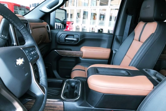 2021 Chevy Silverado 2500 HD Interior