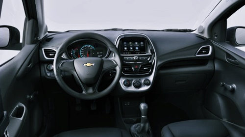 2021 Chevy Spark Interior