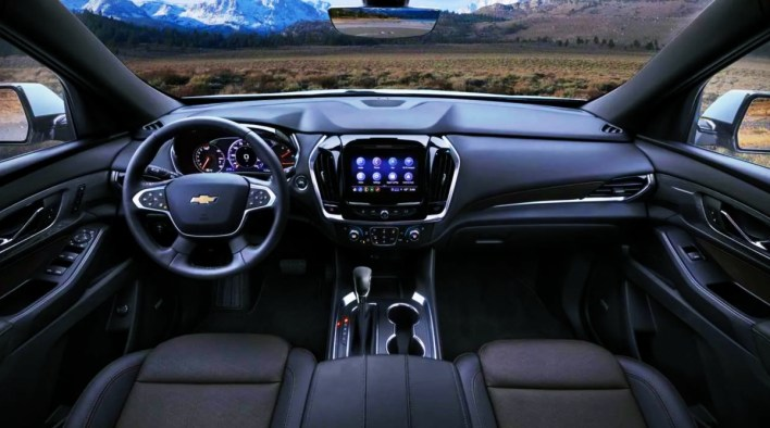 2021 Chevrolet Traverse Redline Edition Interior