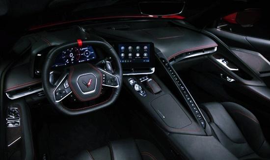 2021 Chevy Corvette C8 Interior