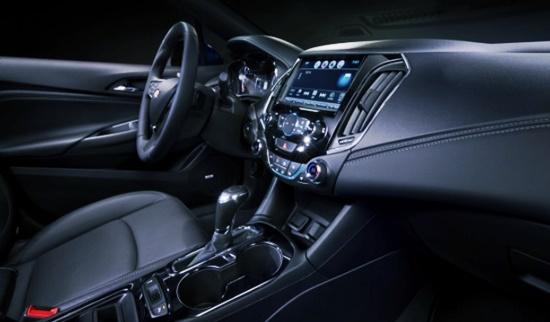 2021 Chevy Cruze SS Interior