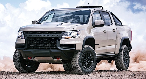 New 2023 Chevy Colorado Rumors, Redesign