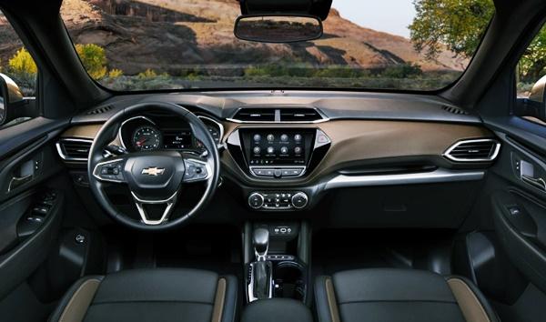 2022 Chevy Blazer SS Interior