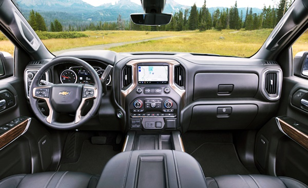 2023 Chevy Silverado Interior