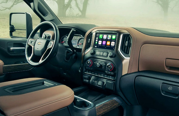 2022 Chevy Silverado 2500HD Interior
