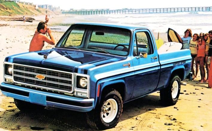 Chevy C10 Sports Truck