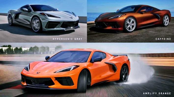 2022 Chevy Corvette Colors