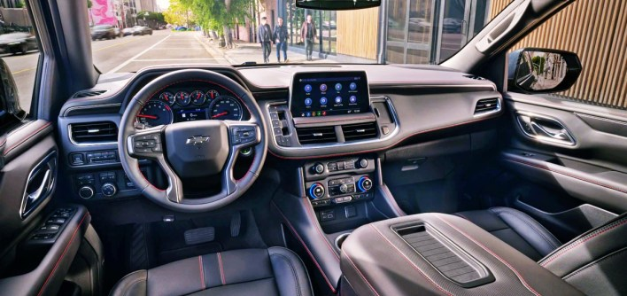 2022 Chevy Tahoe High Country Interior