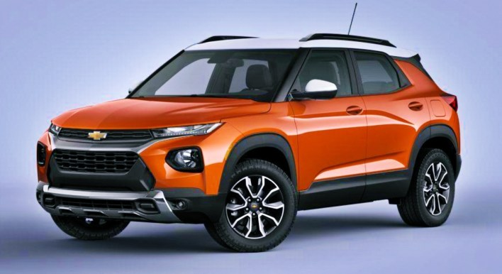 2022 Chevy Trailblazer Vivid Orange Metallic