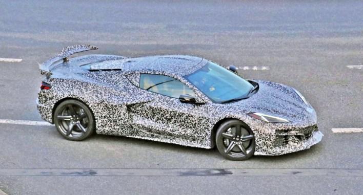 2023 Chevy Corvette Z06 Spy Shots