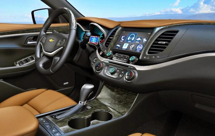 2023 Chevy Impala Interior