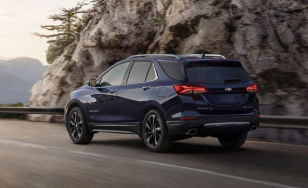 2022 equinox colors Lows Sluggish entry-level engine