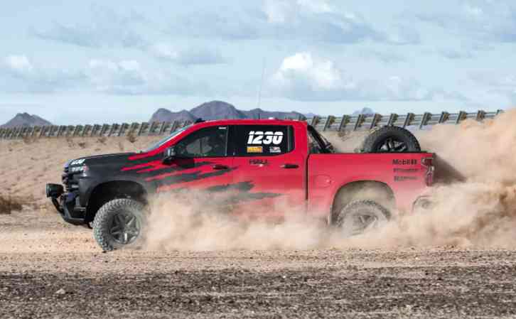 2022 Chevy Silverado ZRX It should be available in any market where