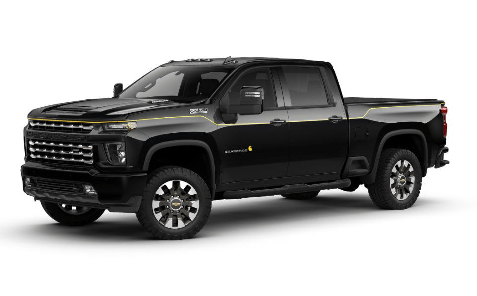2022 Chevy Truck Colors