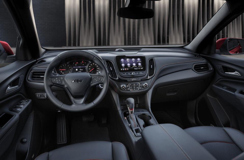 2022 Chevrolet Equinox Fwd Lt 2fl Interior