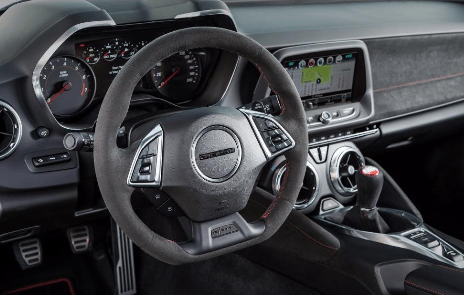 2022 Chevy Camaro 2SS Interior