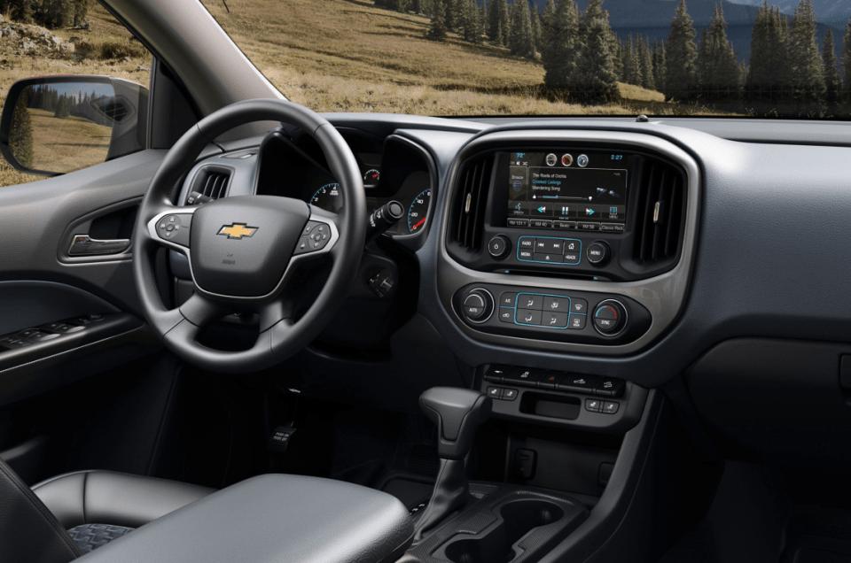 2022 Chevy Colorado Duramax Interior