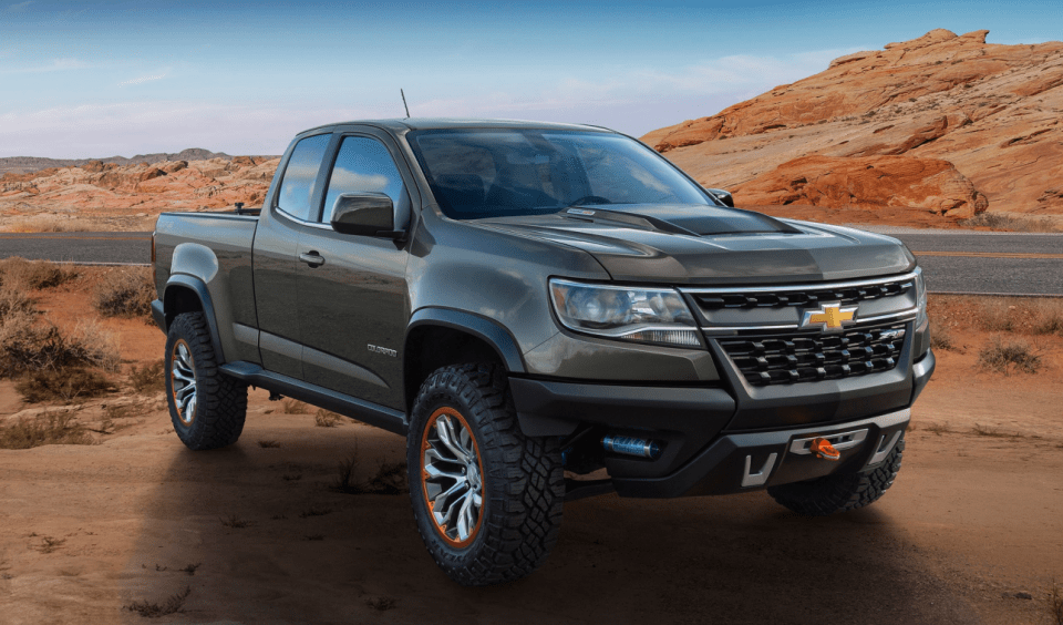 2022 Chevy Colorado Truck Release Date