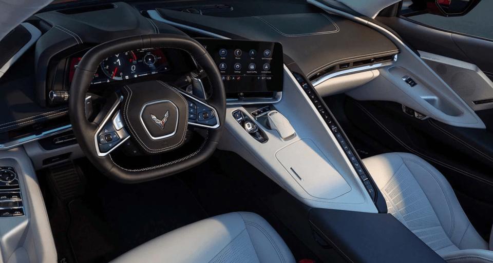 2022 Chevy Corvette C8 Interior