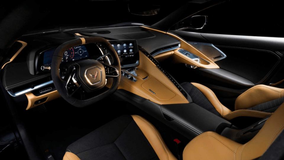 2022 Chevy Corvette Stingray Interior